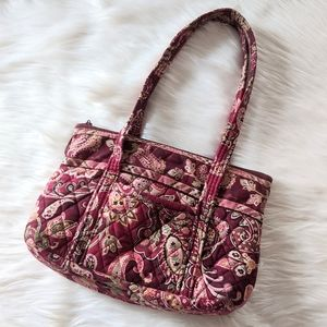 Vera Bradley small tote shoulder bag paisley print